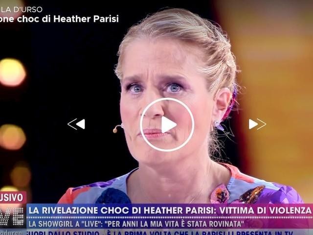 """Live – Non è la D'Urso, Heather Parisi: """"Anch'io sono stata vittima di violenza"""""""