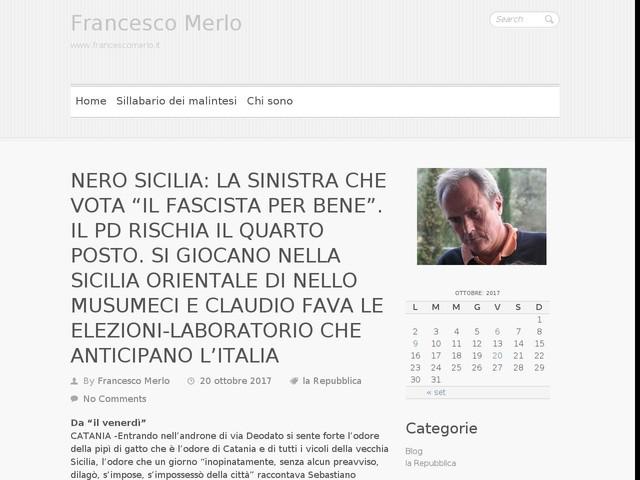 """NERO SICILIA: LA SINISTRA CHE VOTA """"IL FASCISTA PER BENE"""". IL PD RISCHIA IL QUARTO POSTO. SI GIOCANO NELLA SICILIA ORIENTALE DI NELLO MUSUMECI E CLAUDIO FAVA LE ELEZIONI-LABORATORIO CHE ANTICIPANO L'ITALIA"""