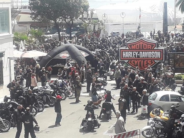 Grande successo ad Anzio per il raduno delle Harley Davidson