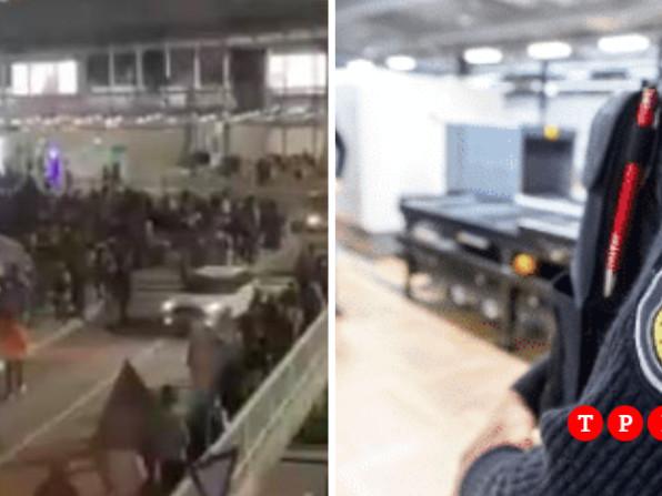 Germania, evacuato l'aeroporto di Francoforte per un allarme bomba: due persone sono state fermate e se ne cerca una terza