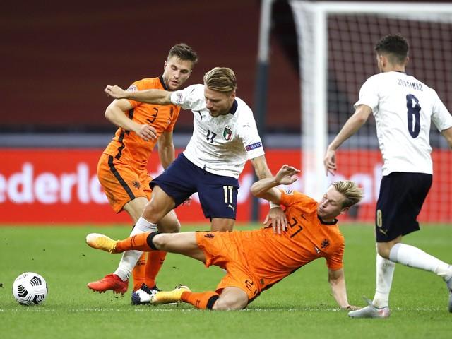 Calcio in tv oggi e stasera: Italia-Olanda, dove vederla in chiaro