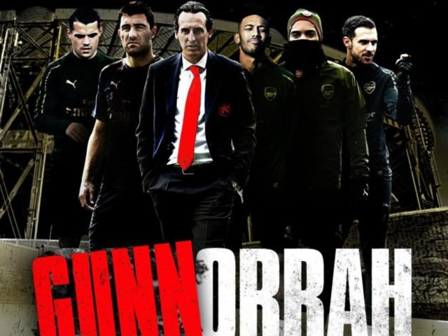 Napoli-Arsenal, a molti tifosi non è piaciuto «Gunnorrah»