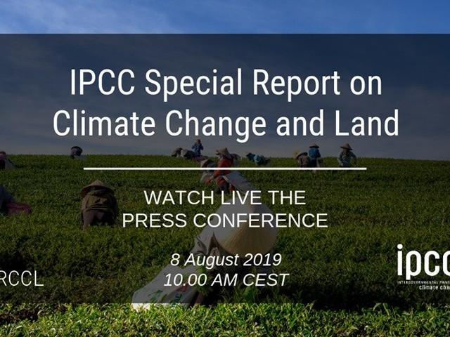Cambiamenti climatici e suolo, il rapporto Ipcc spiegato dall'Ispra