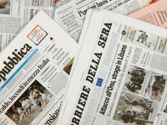 Titoli e aperture. Così i giornali italiani interpretano la crisi di governo