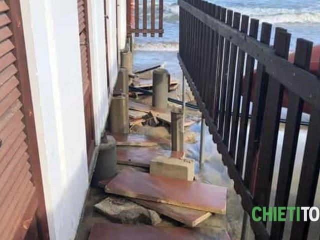 Danni delle mareggiate: stanziati 1,5 milioni per gli interventi urgenti