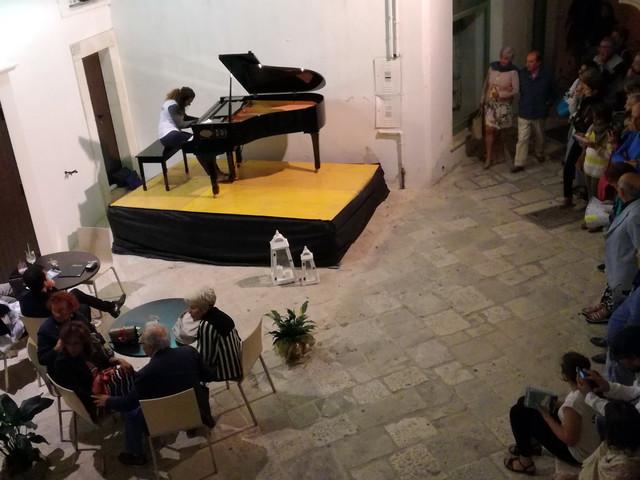 Martina Franca: che bella manifestazione, Piano solo lab Si chiude stasera
