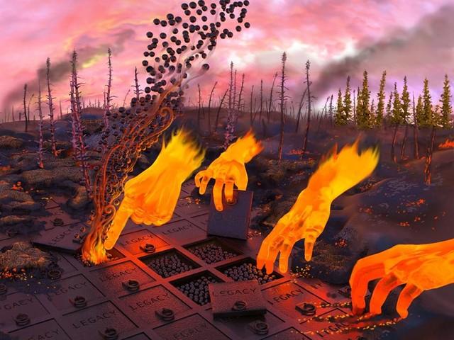Gli incendi delle foreste boreali sempre più grandi e frequenti minacciano gli stock di legacy carbon