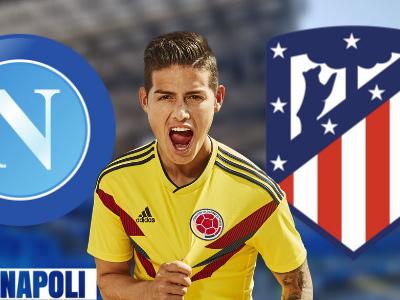 FOTO – Sondaggio enigmatico dello zio di Rodriguez su Instagram: Napoli o Atletico?