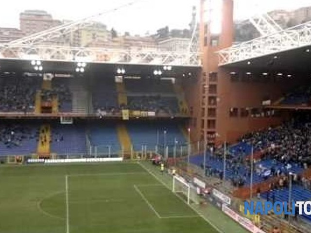 Genoa-Napoli, in vendita i biglietti per il settore ospiti