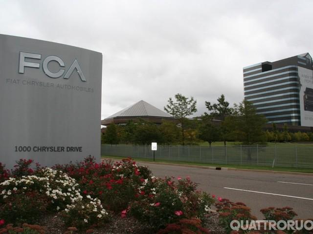 Gruppo FCA - Usa, sanzioni per il mancato rispetto dei limiti su consumi ed emissioni