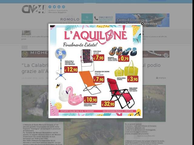 """""""La Calabria e il paesaggio"""": alunni di Pianopoli sul podio grazie all'Abbazia di Corazzo"""