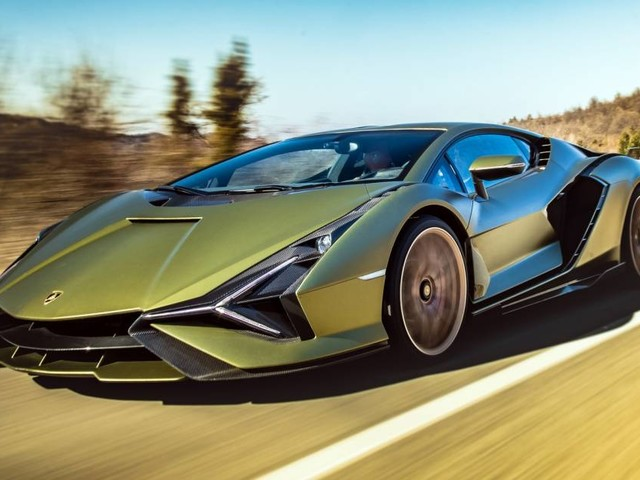 Lamborghini Sián - Lampo ibrido - VIDEO