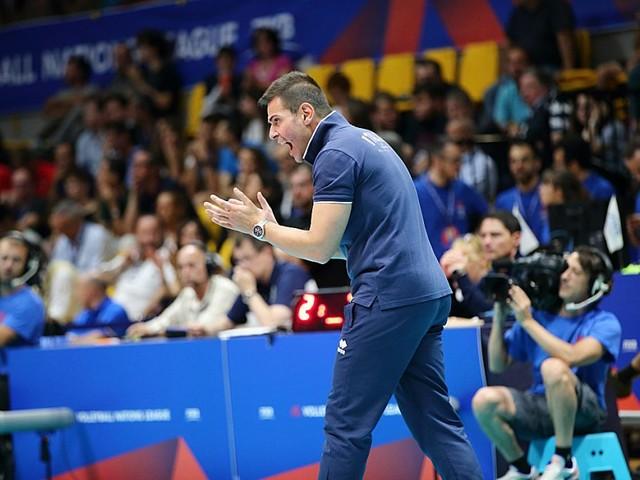 """Volley, Nations League 2019. Blengini: """"Un'altra vittoria, domani battaglia con la Bulgaria"""". Piano: """"Contento del ritorno"""""""