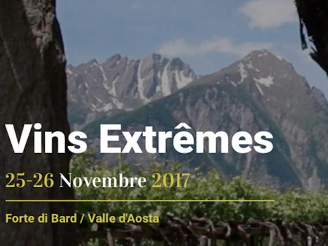 Vins Extrêmes 2017: al Forte di Bard va in scena la viticoltura eroica. Il 25 e 26 novembre
