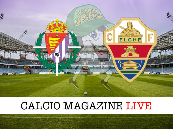 LaLiga, Valladolid – Elche 0-1: diretta live, risultato in tempo reale
