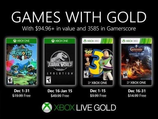 Xbox Games With Gold dicembre 2019, ecco i giochi gratis per gli abbonati - Notizia
