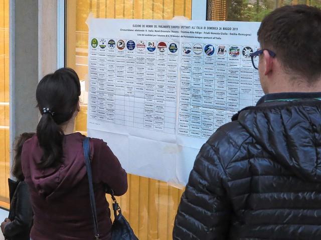 Il voto europeo nei comuni trentini In qualche paese la Lega oltre il 50% A Trento il Pd resiste, a Rovereto cede