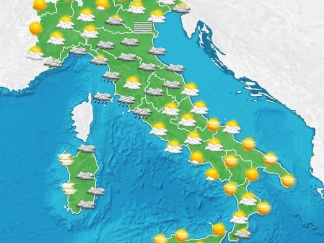 Maltempo nel weekend al Centrosud, ai margini Nord e Toscana