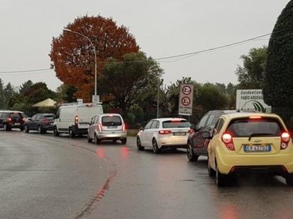 Semaforo del ponte San Michele Calusco riaccende il «rosso stop»