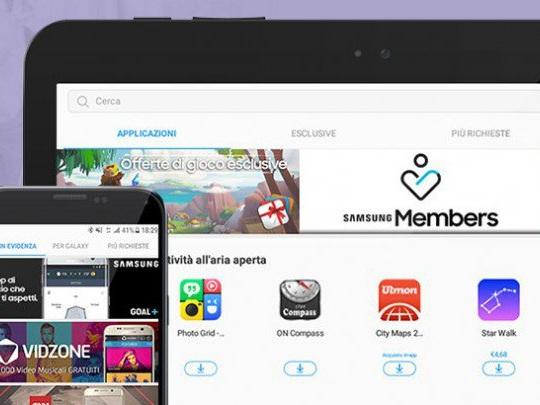 Galaxy Apps Store permette di acquistare con credito telefonico TIM