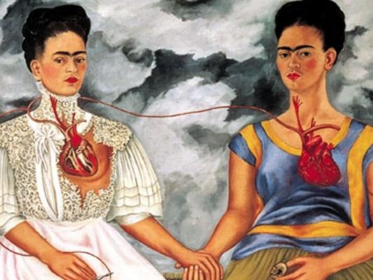 Frida Kahlo a Roma in autunno