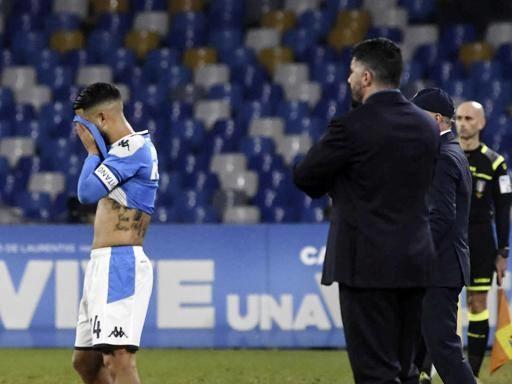 Napoli, ora è crisi profonda: anche la Fiorentina passa al San Paolo