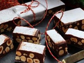 Torrone morbido al cioccolato