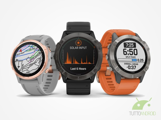 Garmin: ecco i nuovi smartwatch Fenix 6, 6S, 6X e 6X Pro