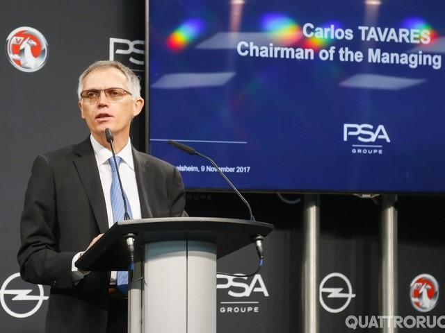 PSA - A Carlos Tavares il premio World Car Person 2020