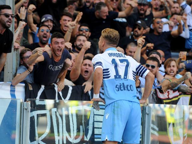 Lazio, niente Caicedo: c'è Immobile con Correa