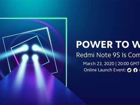 Xiaomi Redmi Note 9S con Quad-Camera ufficiale il 23 marzo: guarda la presentazione in diretta