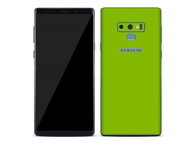 Risolutivo anche per il Samsung Galaxy Note 9 l'aggiornamento di novembre