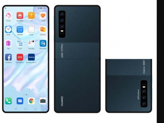 Interessante smartphone pieghevole Huawei a conchiglia? Anteprima brevetto