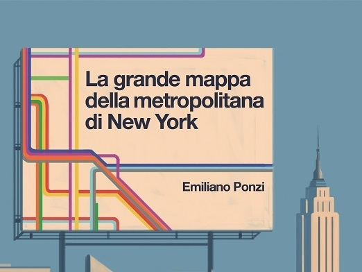 Nyc Subway Map Author Emiliano Ponzi.Emiliano Ponzi The Great New York Subway Map La Grande Mappa