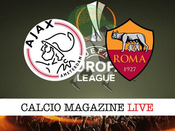 Ajax – Roma: cronaca diretta live, risultato in tempo reale