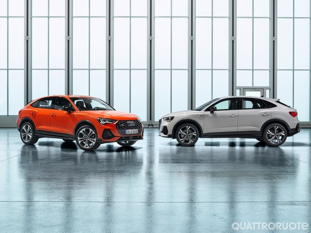 Audi - Aperti gli ordini delle Q3 Sportback, Q7 e SQ8 TDI