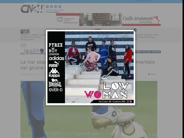La Var sbarca anche in Lega B. Al via in fase sperimentale nel girone di ritorno