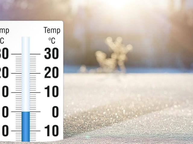 Meteo stravolto, gelo dalla Russia e 10 gradi in meno
