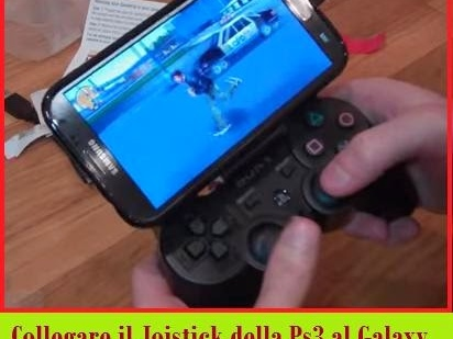[Guida] Collegare joystick ps3 al galaxy note 2 Android