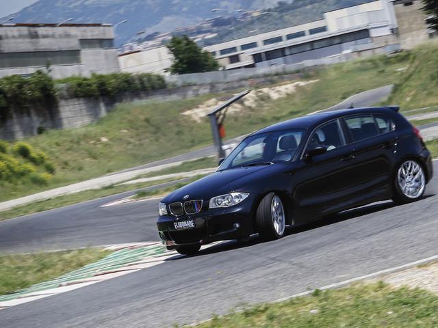 BMW 120d preparazione 218 CV