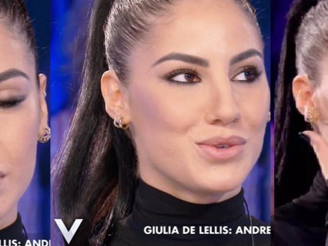 """Verissimo, Giulia De Lellis piange ricordando Damante: """"Ho perso 6 kg, ma non ero io l'errore"""""""