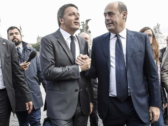 La manovra delle polemiche tra Pd e Renzi