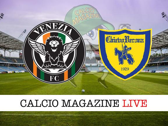 Serie B, Venezia – Chievo: le formazioni ufficiali