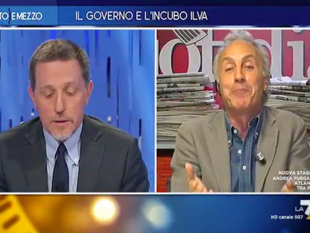 """Travaglio si scontra con Giannini: """"Sei ossessionato da Di Maio"""""""