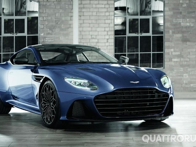 Aston Martin - Ecco la DBS Superleggera disegnata da 007