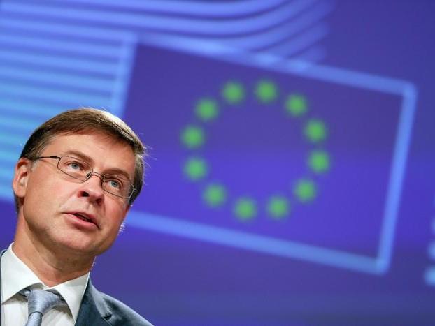 Dombrovkis, chiederemo di manovra a Roma
