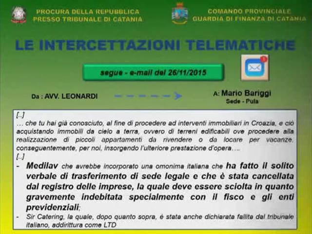 Bancarotta fraudolenta, le intercettazioni che incastrano Mariolino Leonardi   VIDEO