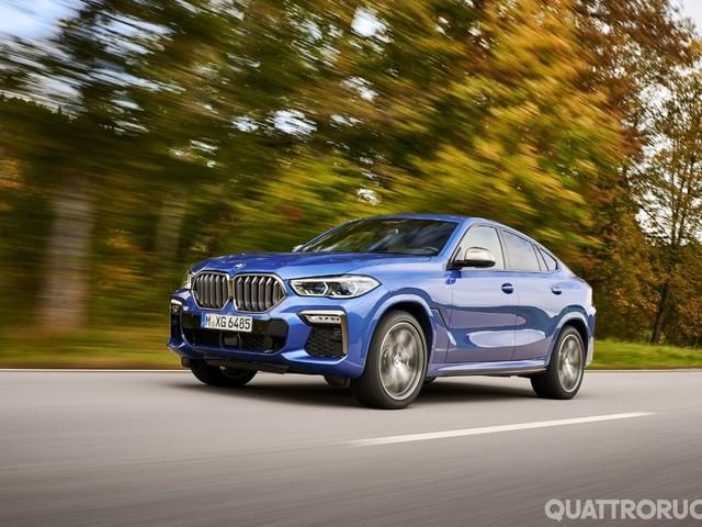 BMW X6 - Al volante della M50i