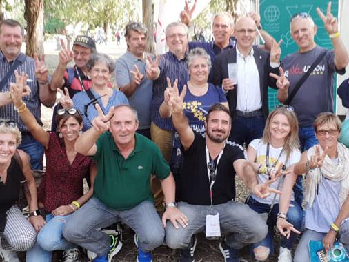 Molti attivisti dell'Oglio Po a Napoli per la festa dei 10 anni del Movimento 5 Stelle