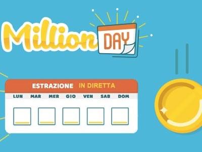 Estrazioni Million Day sabato 16 febbraio 2019: risultati vincenti